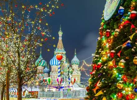 Winter Romance and New Year Fun in the Russian Capitals (CB-10)